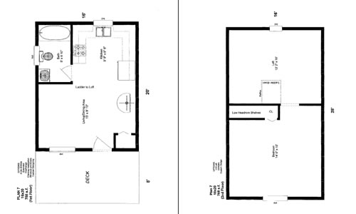 16 x 20 cabin floor plans quotes
